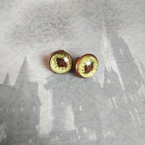 The Marauder's Map stud earrings